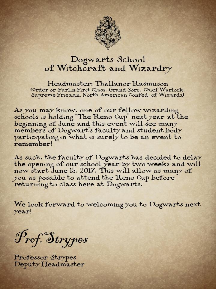 Dogwarts move